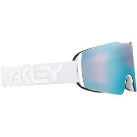 Oakley Fall Line XM Gogle zimowe Kobiety, white/prizm snow sapphire iridium